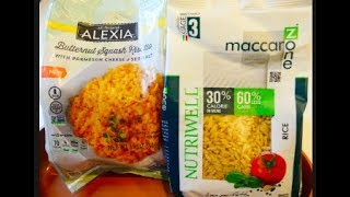 Product Review: Alexia Butternut Squash Risotto + Fit Meal Prep