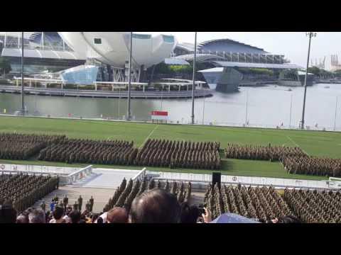 Singapore BMT Graduation at Marina Bay Floating Platform