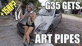 Are Motordyne Test Pipes Worth It? G35 ART Pipes Install and Comparison