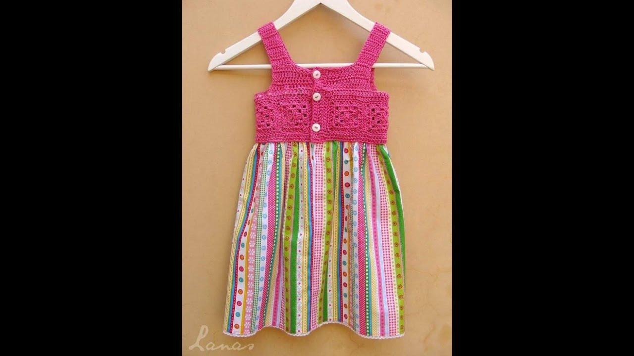 CROCHET FABRICS BABY DRESS PATTERNS YouTube Stunning Baby Dress Patterns
