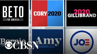 2020 presidential campaign logos get colorful