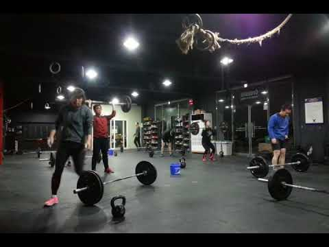 "CrossFit ILC Training Log - Hero WOD ""T"""
