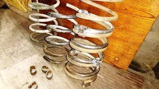 Как усилить пружины на жигулях ВАЗ (классика)