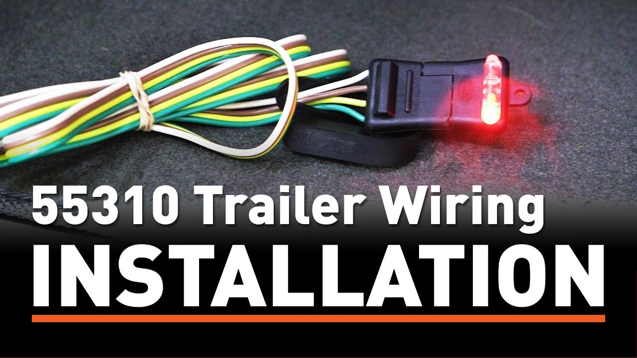 medium resolution of trailer wiring install curt 55310 taillight converter on a hyundai diy wiring harness trailer hyundai diy wiring harness trailer hyundai