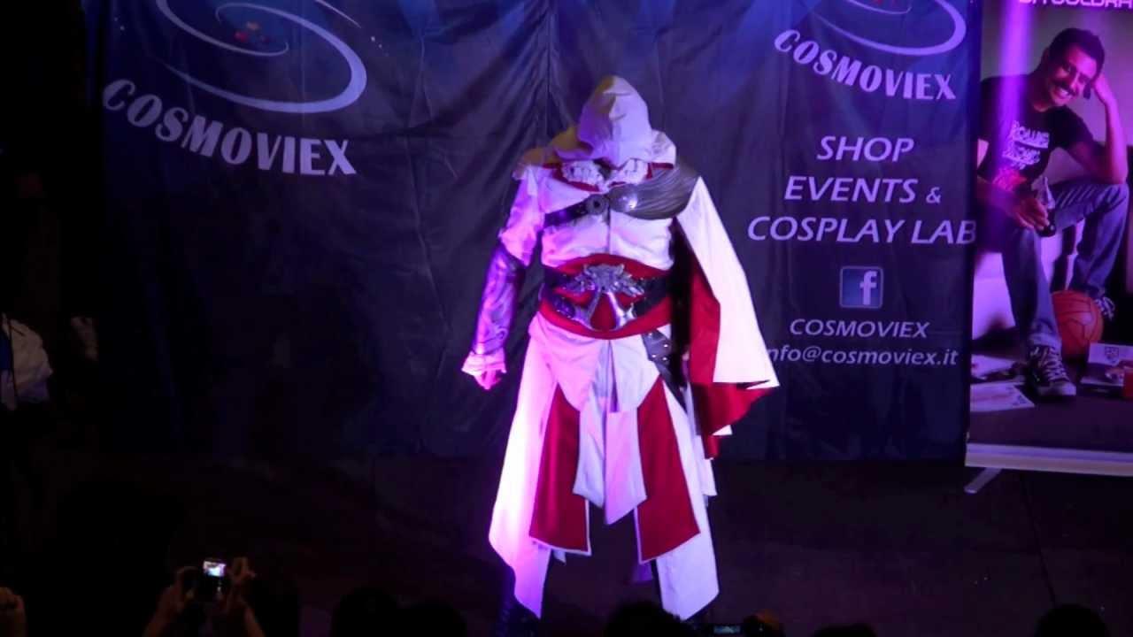 Gara Cosplay Cosmoviex Ezio Auditore Assassin S Creed Brotherhood