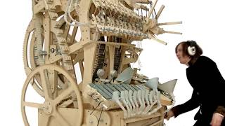 Wintergatan   Marble Machine music instrument using 2000 marbles (hmm)
