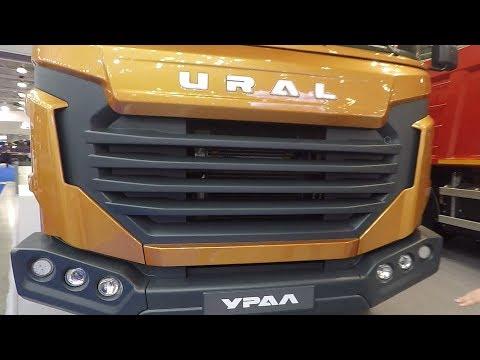 Новый Урал грузовик на метане! Это Вам не Урал 4320 с ЯМЗ 238!