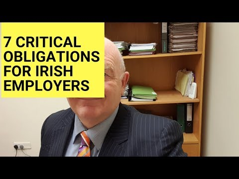 7 Critical Employment Law Obligations for Employers in Ireland