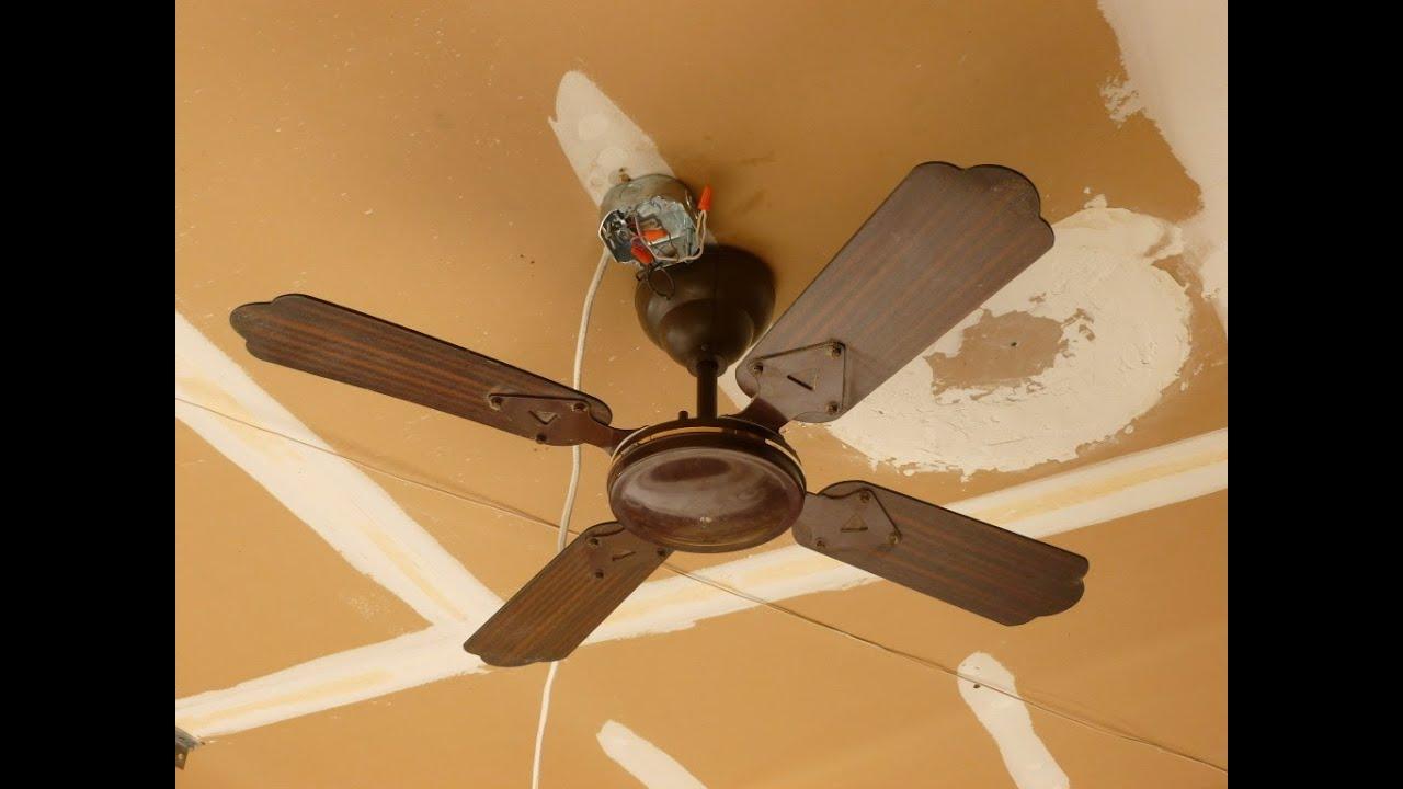 Ceilings Fans Huggers Smc : Smc d w ceiling fan youtube
