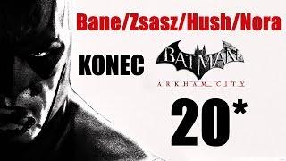 CZ tit. | Let's Play | Batman: Arkham City | #20 | KONEC | NG+ | 1080p