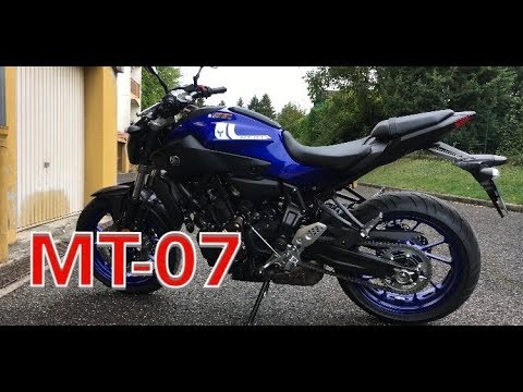 yamaha mt 07 blue race 2017 youtube. Black Bedroom Furniture Sets. Home Design Ideas