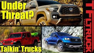 Can The 2020 Toyota Tacoma Fend Off the Ford Ranger and Jeep Gladiator?   Talkin' Trucks #34
