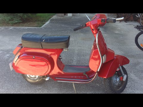 vespa pk 50 ss restoration youtube. Black Bedroom Furniture Sets. Home Design Ideas