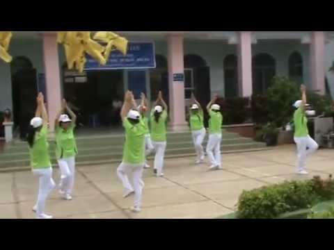 Bài yoga cho mọi người của đội TDDS Tân Phong (Tân Biên, Tây Ninh)