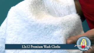 "Wash Cloths - 12"" x 12"" - Premium (#WPREMWC1212-PK)"