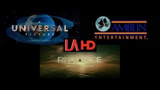 Universal/Amblin Entertainment/Reliance Entertainment