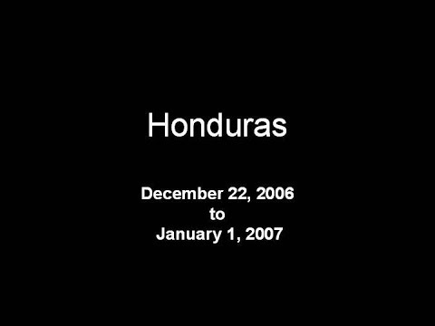 Honduras December 2006