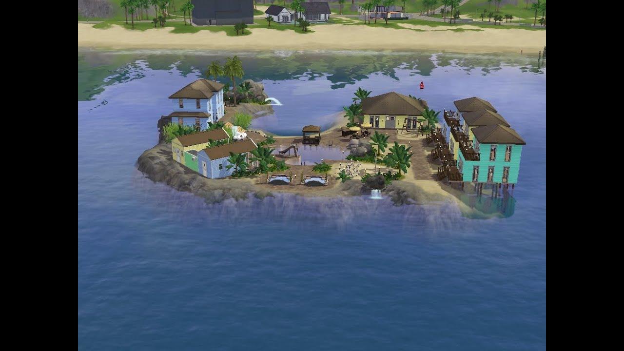 sims 3 bauen let 39 s build mein insel resort eine. Black Bedroom Furniture Sets. Home Design Ideas