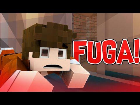 FUGA DALLA PRIGIONE! Minecraft Roleplay