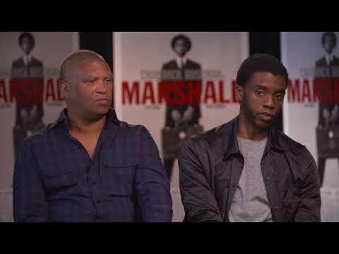 Jason Fraley talks to Chadwick Boseman, Reginald Hudlin about 'Marshall'