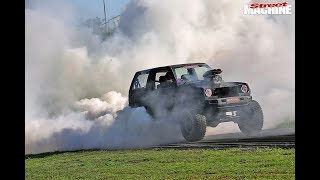 Yeah the girls! Meet the ladies giving burnouts a go