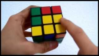 Zauberwürfel Lösung: 5 Schritt-Gelbes Kreuz(Variante 2)