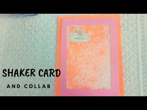 Shaker card video and collab   best diy craft idea   paper craft ideas for any occasion  #DIY #Craft