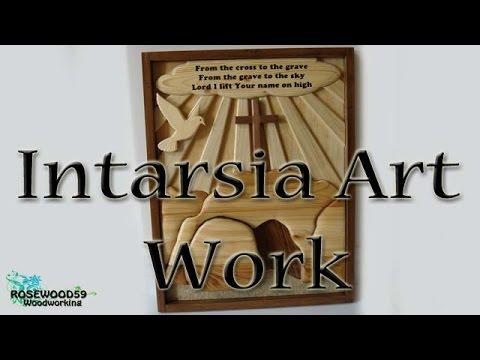 How To Make A Intarsia Art Work