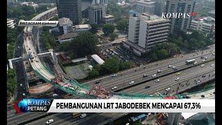 LRT Jabodebek Capai 67.3 Persen, Jokowi Pamer di Instagram