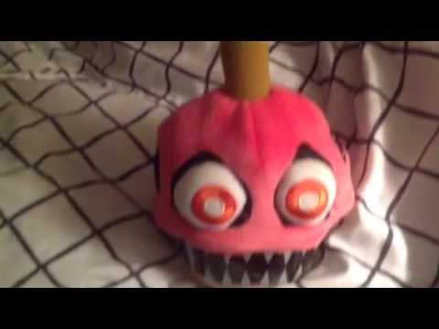Fnaf nightmare cupcake plush review youtube