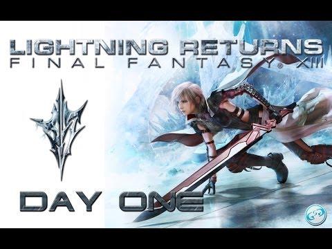 Lightning Returns FFXIII - Day One Full Strategy Guide Playthrough / Walkthrough
