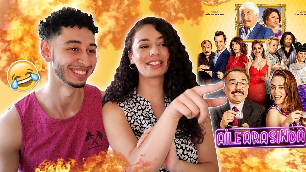 Aile Arasinda Turkish Comedy Movie Trailer Reaction | Jay & Rengin
