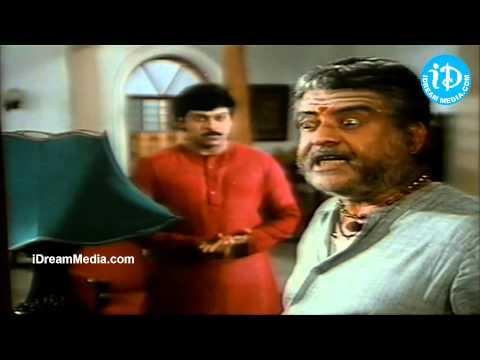 Chiranjeevi, Gemini Ganesan, Prasad Babu Nice Emotional - Rudraveena Movie Scene