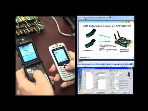 Lyrtech GSM Femto Base Station Demo using SFF SDR Board