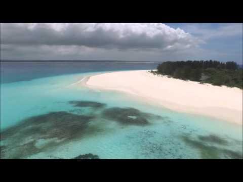 Mnemba Island drone footage