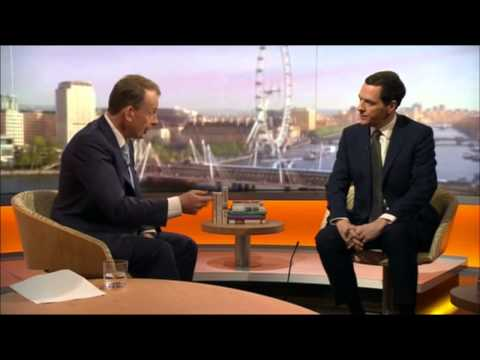 Car crash interview: The 18 times Osborne can't answer where money for the NHS will come from