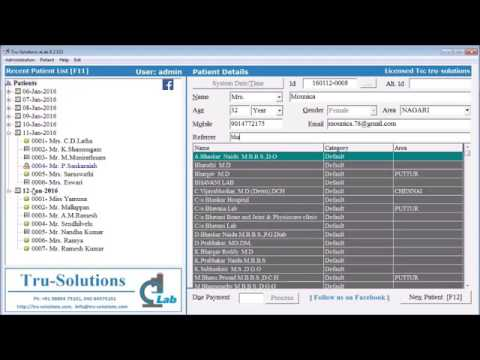 Download Free Billing & Reporting Software for Clinical Labs