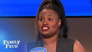 I came HOME to find a BURGLAR taking a... | Family Feud