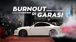 CARVLOG: Garage Tour + Burnout di Garasi