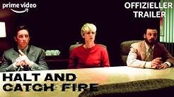 Halt and Catch Fire   Staffel 1   Offizieller Trailer   Prime Video DE