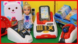 豪華收銀機玩具,洋娃娃購物兒童遊戲
