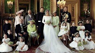 هاري وميغان ينشران الصور الرسمية للزفاف الملكي من قلعة وندسور…