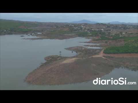 Los efectos del temporal en la Región de Murcia, a vista de pájaro