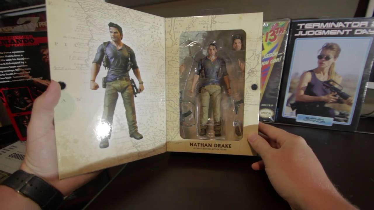 Uncharted 4 Nathan Drake Neca Toys Action Figure Review Youtube