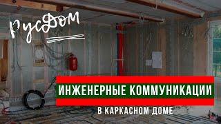 Отопление. Водоснабжение. Канализация. Вентиляция в каркасных домах по СП 31.105-2002