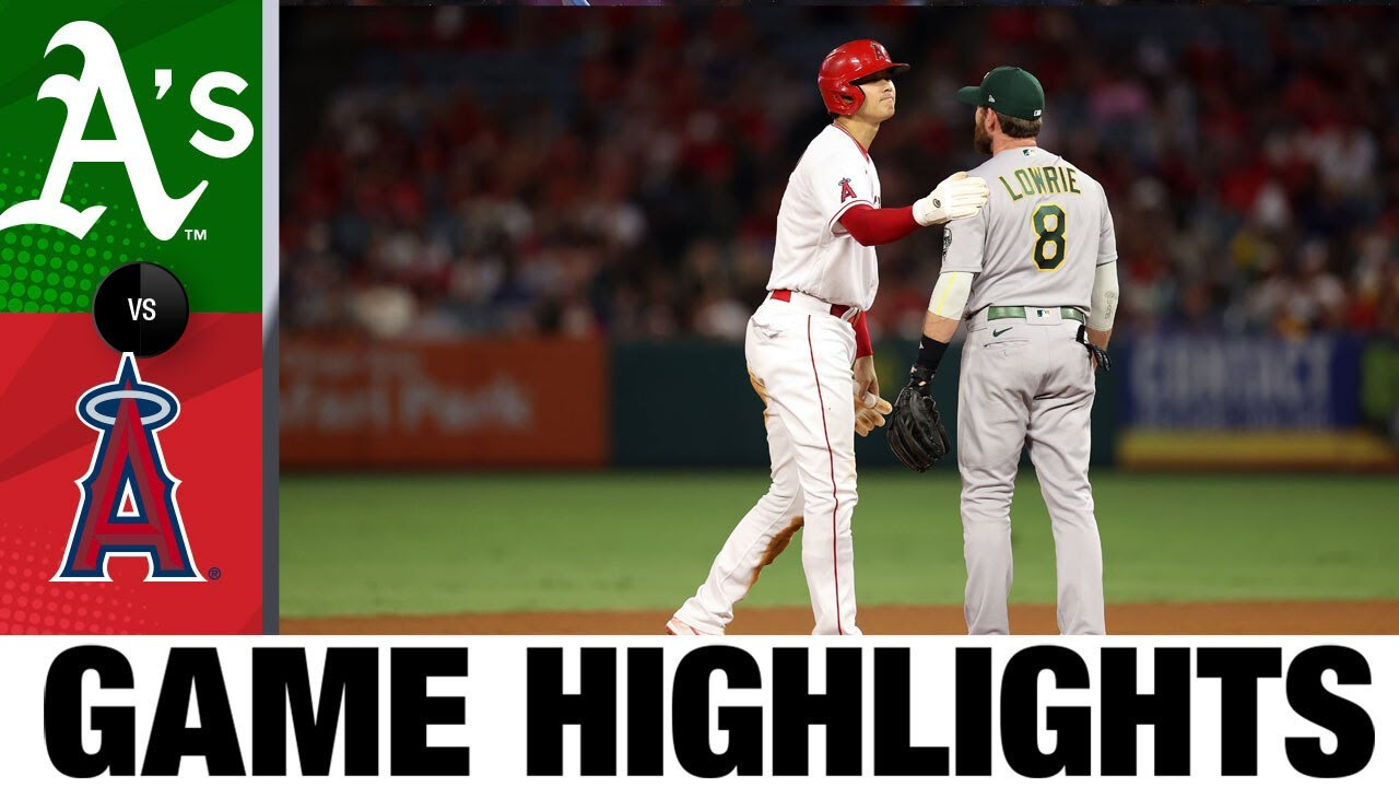 Download A's vs. Angels Game Highlights (7/29/21)   MLB