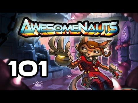 Awesomenauts - Let's Play! 101 [False Start]