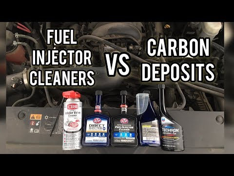 How To Use Fuel Injector Cleaner to Remove Intake Carbon Build Up on Direct Injection Engines
