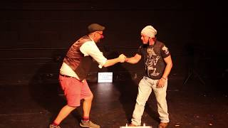 Best Magic Show Volunteer in Best friend handshake  SECRET SHOW V: