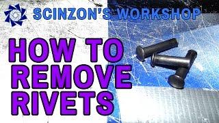 Scinzon's Tutorials - H๐w to Remove Rivets
